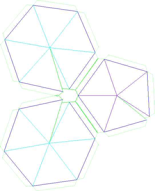 Geodesic Dome Template: Build A Thin Skin Geodesic